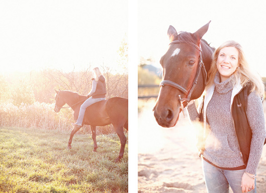 Erin and Hobbes - a morning on the farm 016