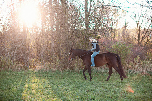 Erin and Hobbes - a morning on the farm 017