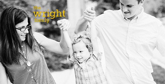 The Wright Family - Cedarburg Family Photos